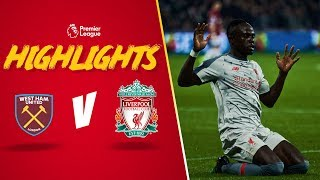 Mane on the mark | West Ham 1-1 LFC | Highlights