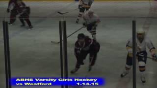 Acton Boxborough Girls Ice Hockey vs Westford 1/14/15
