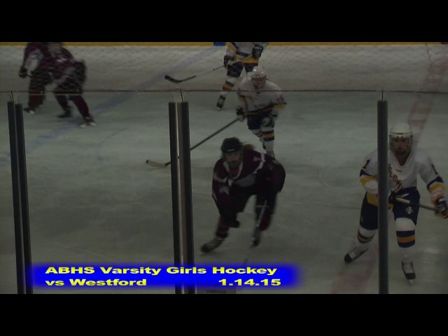 Acton Boxborough Girls Ice Hockey vs Westford 1/14/15