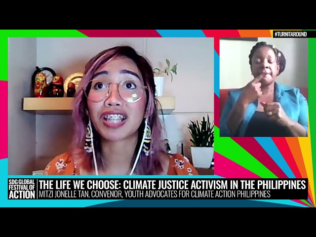 The Life We Choose: Climate Justice Activism in the Philippines (French)