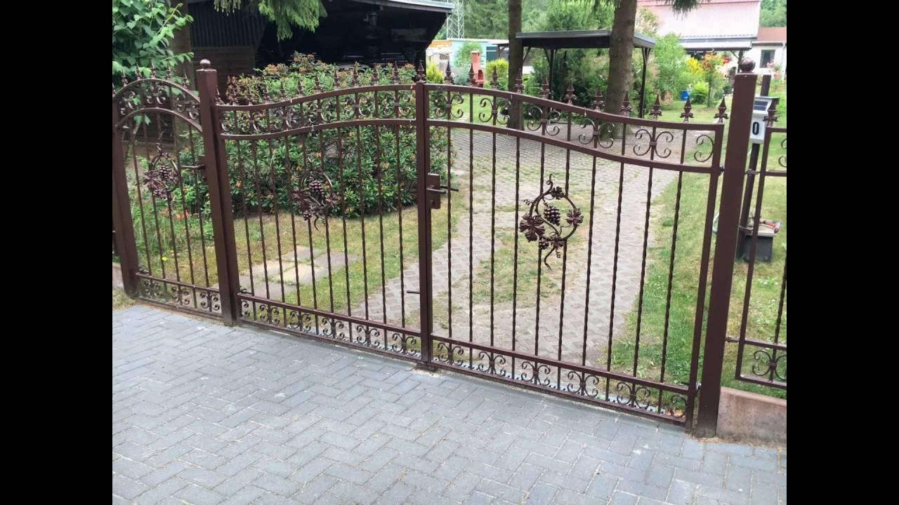 Zaun aus Polen Metallzaune Witkowski