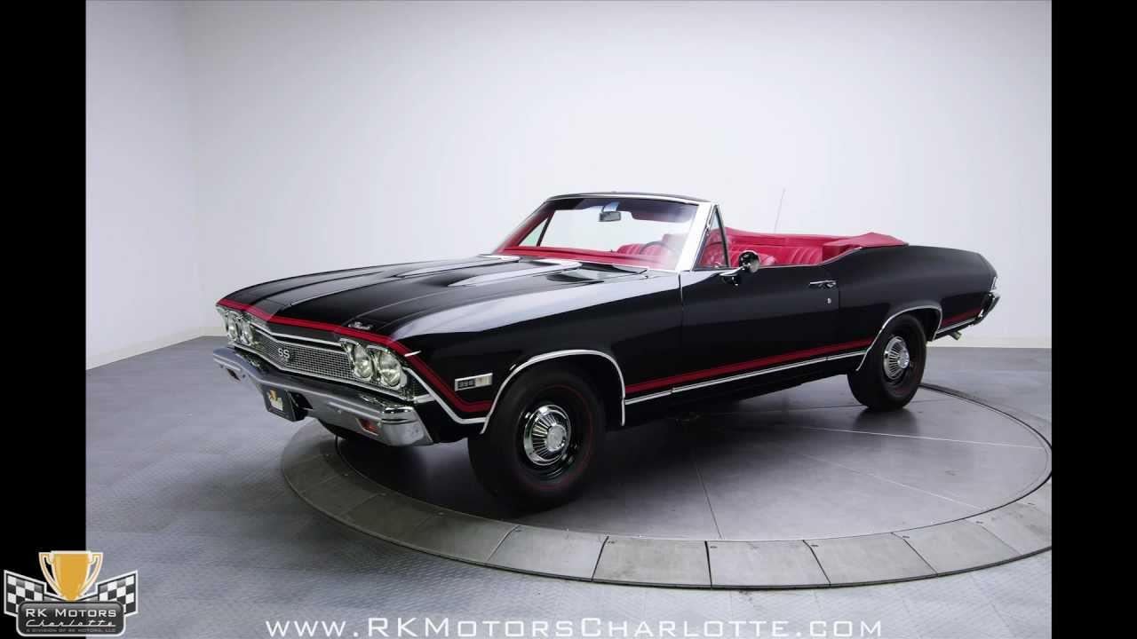 132384 1968 Chevrolet Chevelle RK Motors Classic Cars for Sale