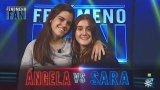 Fenómeno fan (T2) | Sara y Ángela llenan de buen rollo el plató