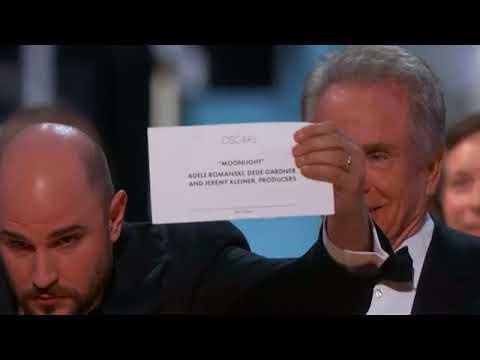 Verwarring bij Oscars: La La Land foutief uitgeroepen tot beste film