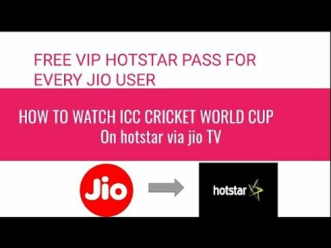 How To Watch World Cup Match For Free On Hotstar | How To Watch World Cup Match Live On Mobile |tdo
