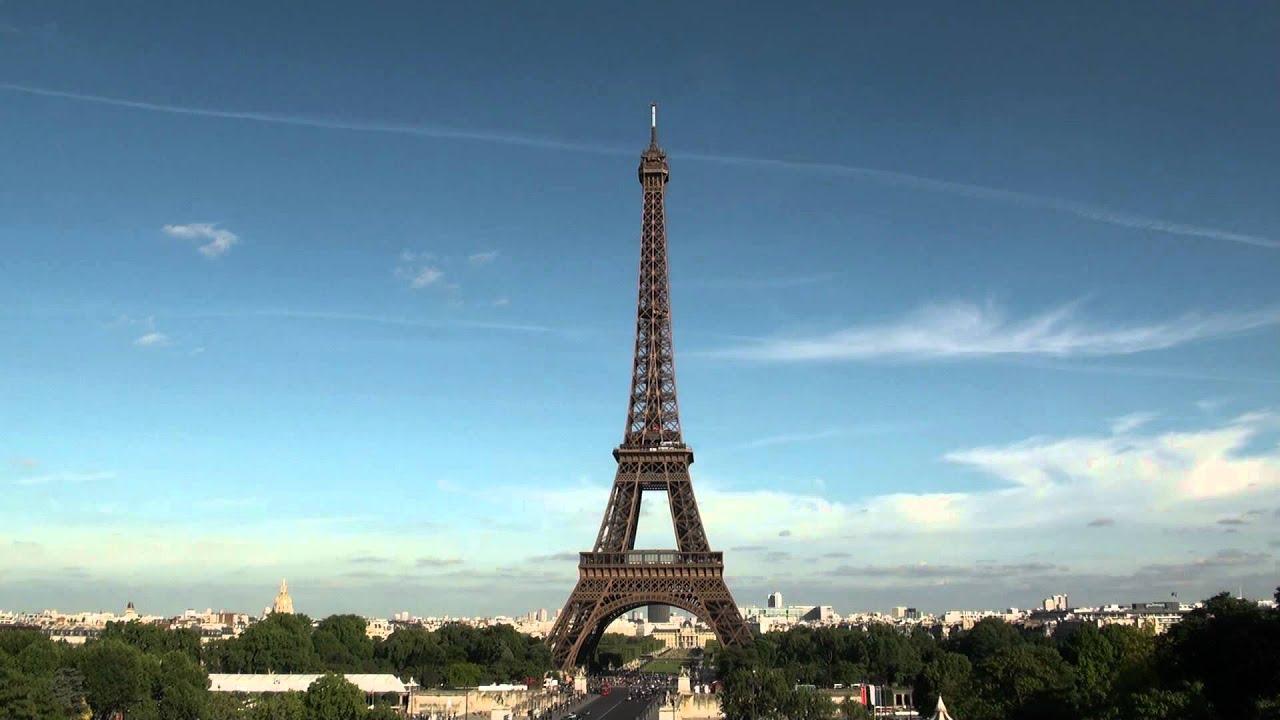 eiffel tower stock footage public domain youtube