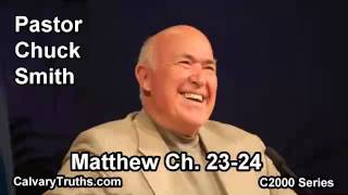 40 Matthew 23-24 - Pastor Chuck Smith - C2000 Series