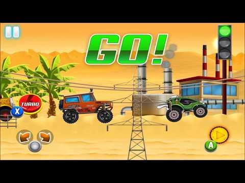 Race Car Driving for Kids - Truck, Monster Truck   SUV Safari Racing: Desert Storm Adventure