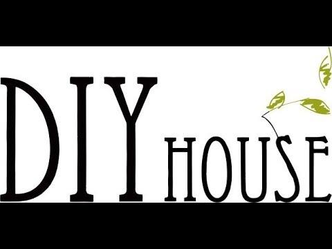 Интерьерный Конструктор для Творчества DIY HOUSE