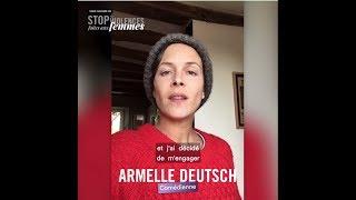 #StopVFF - STOP AUX VIOLENCES FAITES AUX FEMMES - Armelle Deutsch s'engage