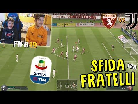 TORINO vs JUVENTUS - DERBY TRA FRATELLI FINITO IN LACRIME!! - Fifa 19
