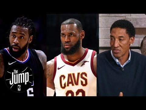 Scottie Pippen wants DeAndre Jordan to join LeBron James on Cavaliers | The Jump | ESPN