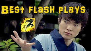 Amazing Flash Tricks Unbelievable Moments League of Legends