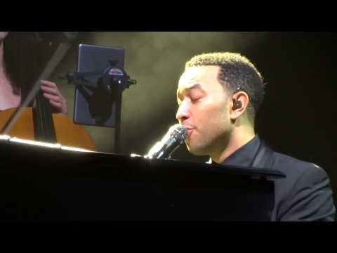 John Legend -  You and I - All Of Me World Tour 2014 Sydney 05/12/14