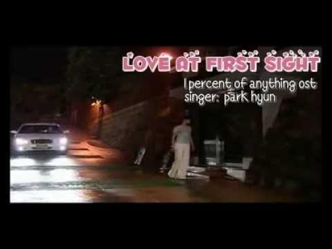 [Vietsub+Kara] Love at first sight (첫눈처럼)- 1 percent of anything OST(phim Hạnh phúc bất ngờ)