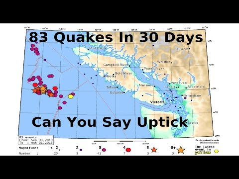 GSM Update 11/2/18 - Winter Instead of Fall - Seismic Uptick - NASA Loses Another Satellite - Etna