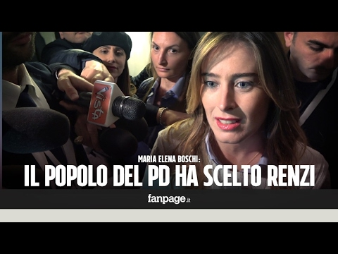 """Primarie Pd, Boschi: """"Il popolo del Pd conferma con forza Matteo Renzi"""""""