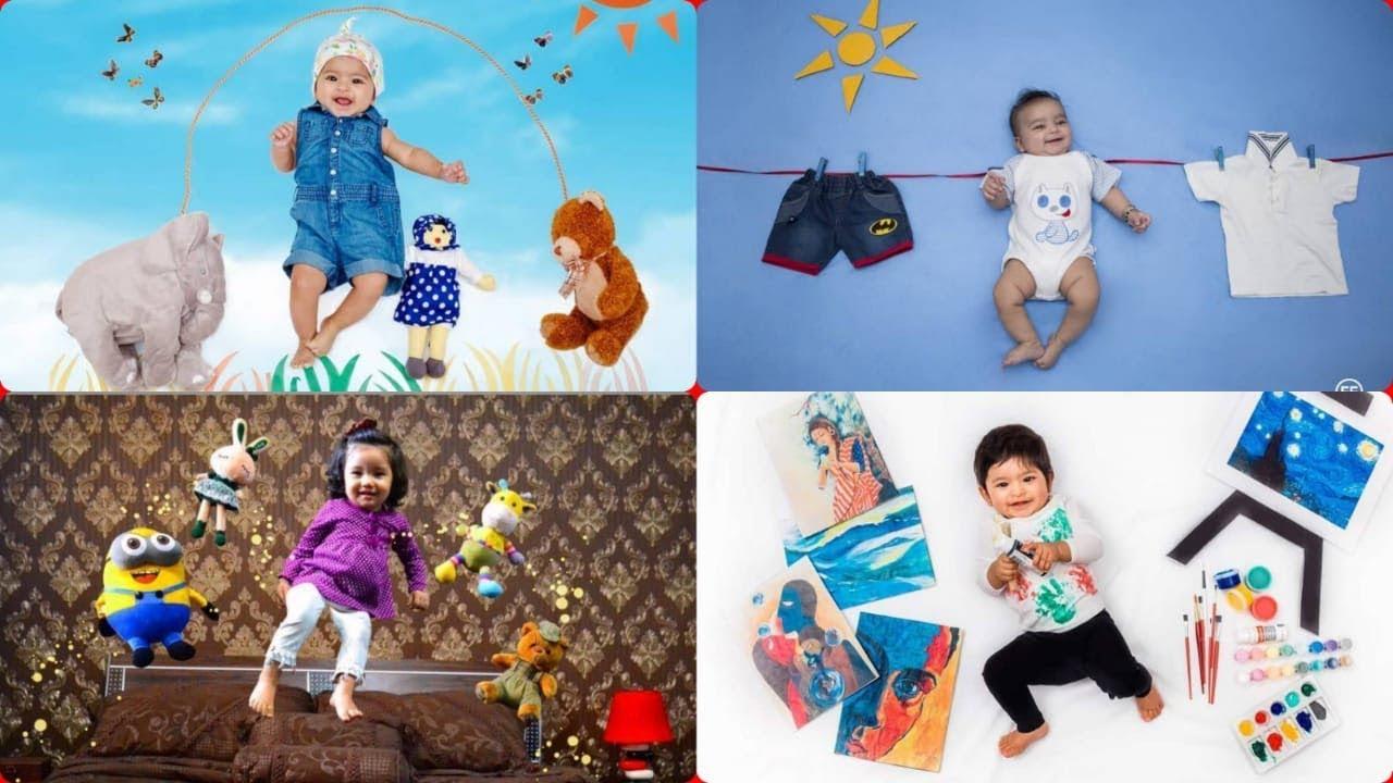 Baby photoshoot at home ideas creative baby photography ideas diy baby