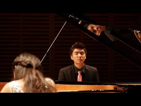 Eden Chen and Jade Chen performing Darius Milhaud: Scaramouche - Suite for Two Pianos