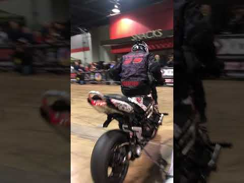 Motorcycle stunt show (2/09/2018) DONALD E. STEPHENS CONVENTION CENTER