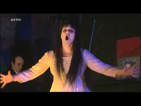 Diana Damrau as Antonia - Les Contes d'Hoffmann Munich 2011