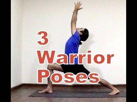 Warrior Poses   Virbhdrasana Variations in Ashtanga Yoga