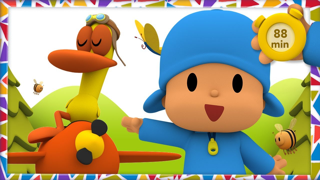 ✈ POCOYO AND NINA - Plane Adventures [88 minutes] | ANIMATED CARTOON for Children | FULL episodes