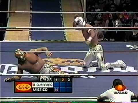 CMLL: Místico vs. Último Guerrero, 2005/02/25