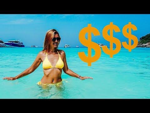 Сколько денег мы потратили в Таиланде. Пхукет 2019. Цены