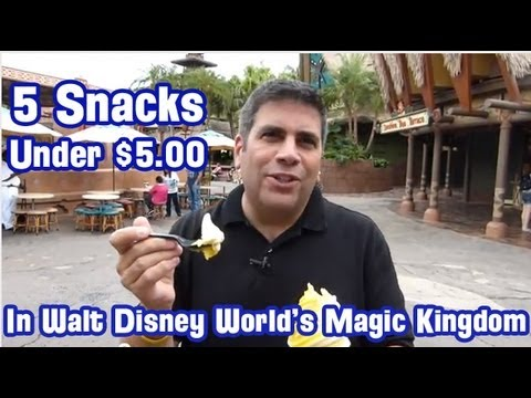 5 Snacks Under $5 at Walt Disney World's Magic Kingdom