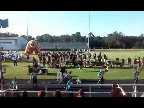 Liberty Eylau High School Marching Band 2015; Tribal Affect