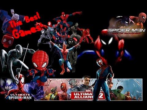 Los mejores juegos de Spiderman - YouTube