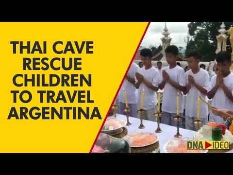 Children rescued from Thai cave to travel to Argentina for Youth Olympics