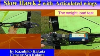 Baixar Slowhawk2 with Articulated wings: Weight load test