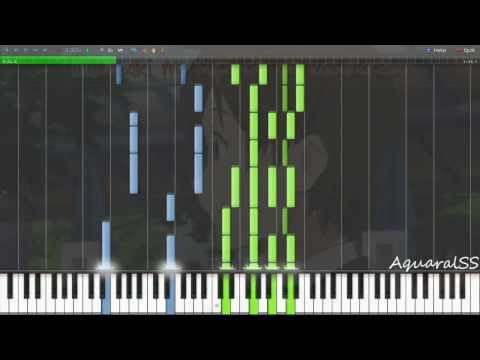 [Synthesia] Kokoro Connect - Paradigm (Piano Tutorial + DPS)