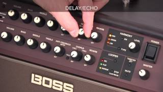 Acoustic Singer Quick Start chapter 5: Using Mic Effectrs
