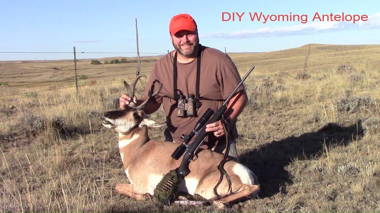 2016 Wyoming Antelope Diy