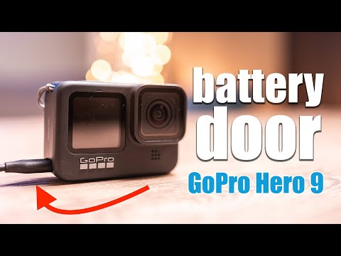 GoPro Hero 9 Black | How to change the battery door! [4K]