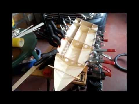 Homemade rc speedboat