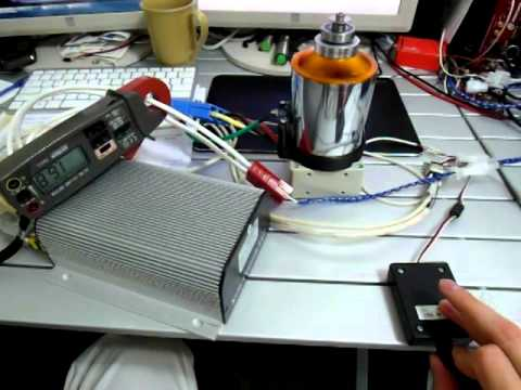 Powered Exoskeleton hydraulic power unit motor test