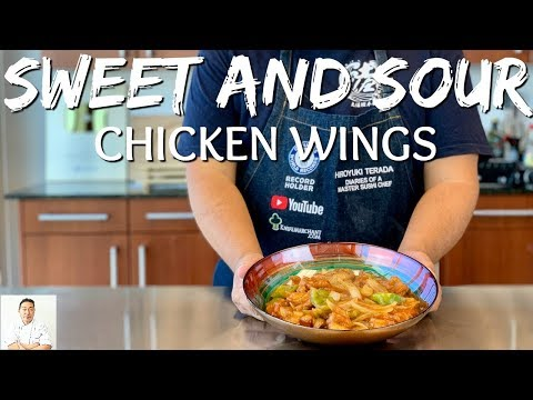 Sweet and Sour Chicken Wings | Classic Recipe