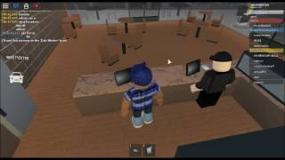 roblox-pacifico/ working at the cafe
