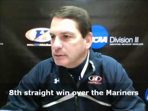 Hobart Football Postgame Interviews (Merchant Marine)