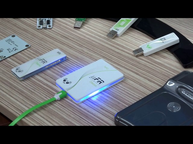 Digital signing with D-Logic contactless NFC RFID Reader - uFR Classic CS