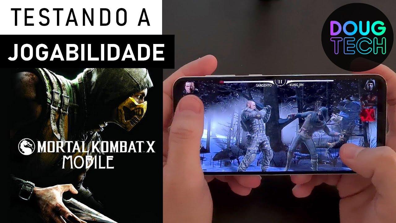 Mortal Kombat no Samsung Galaxy A30s / Teste de JOGABILIDADE (Game Play)