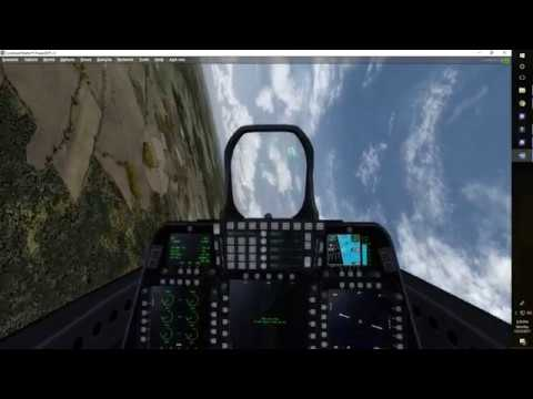 Prepar3d V3   F-22  Raptor HIGH SPEED FLIGHT Over Slovakia.
