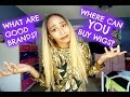 BEST PLACES TO BUY WIGS!!  TIPS ON FINDING YOUR FIRST WIG! BEST WIG BRANDS!