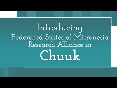 FSM Research Alliance in Chuuk