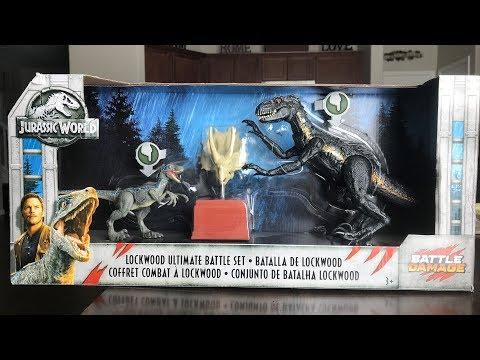 Jurassic World Lockwood Batalha Owen-Novo-Caixa exterior faltando