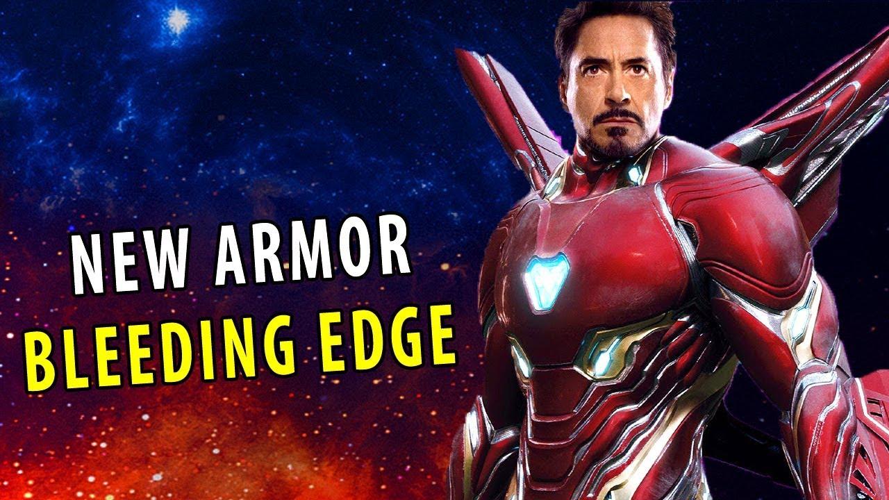 New Iron Man Suit BLEEDING EDGE ARMOR - Avengers: Infinity War (2018)